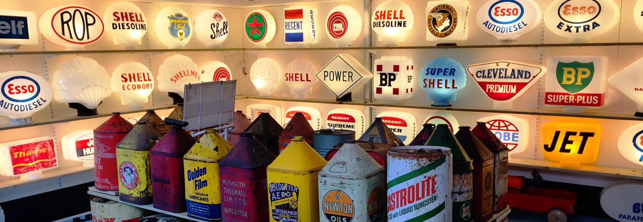 Iconic Petrol Globes & More