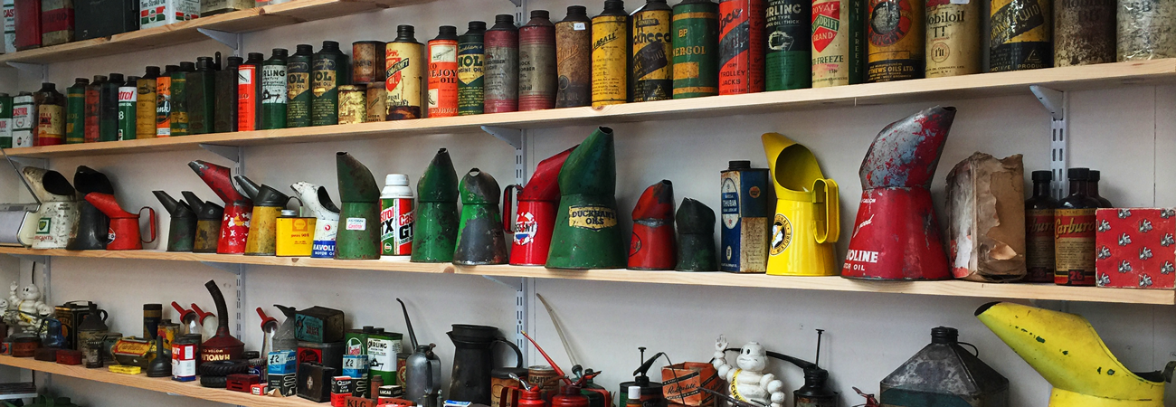 A Wide Array of Automobilia