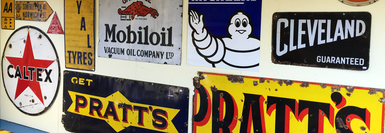 Love Vintage Signs? So Do We!