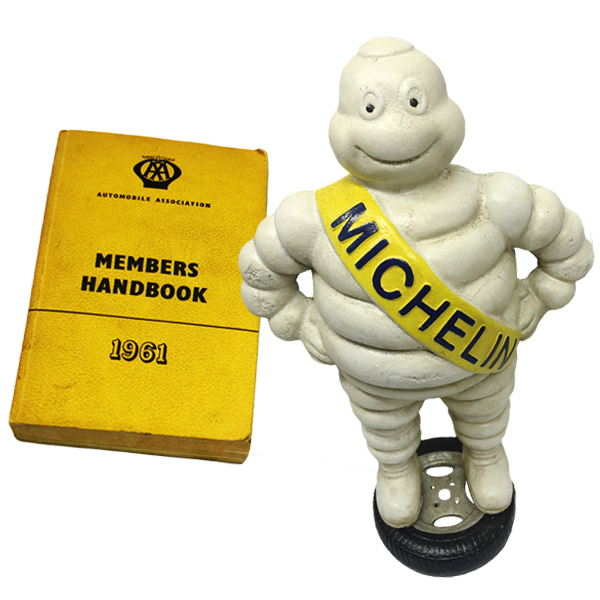 Michelin Man and Member Book