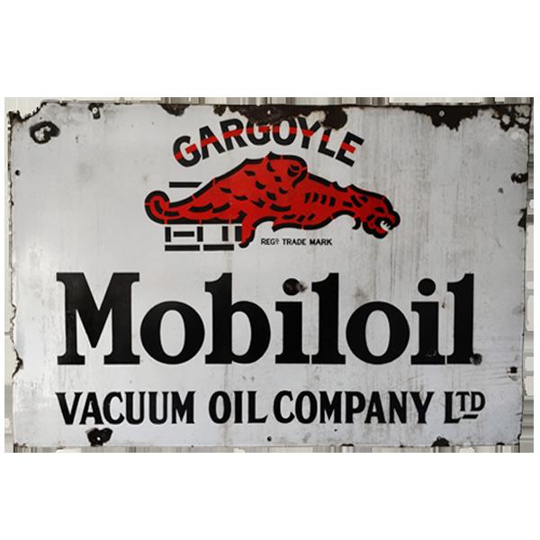 Mobiloil Vintage Sign