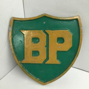 VIntage BP Cast Metal Sign