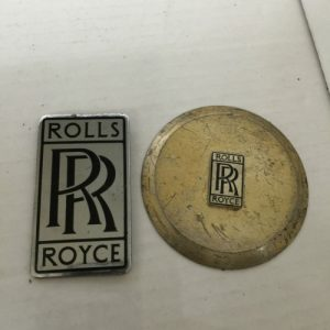 Vintage Rolls Royce Badges