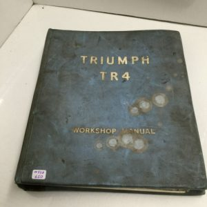 Triumph TR4 Workshop Manual