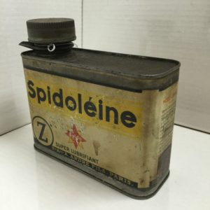 Vintage Spidoleine Can
