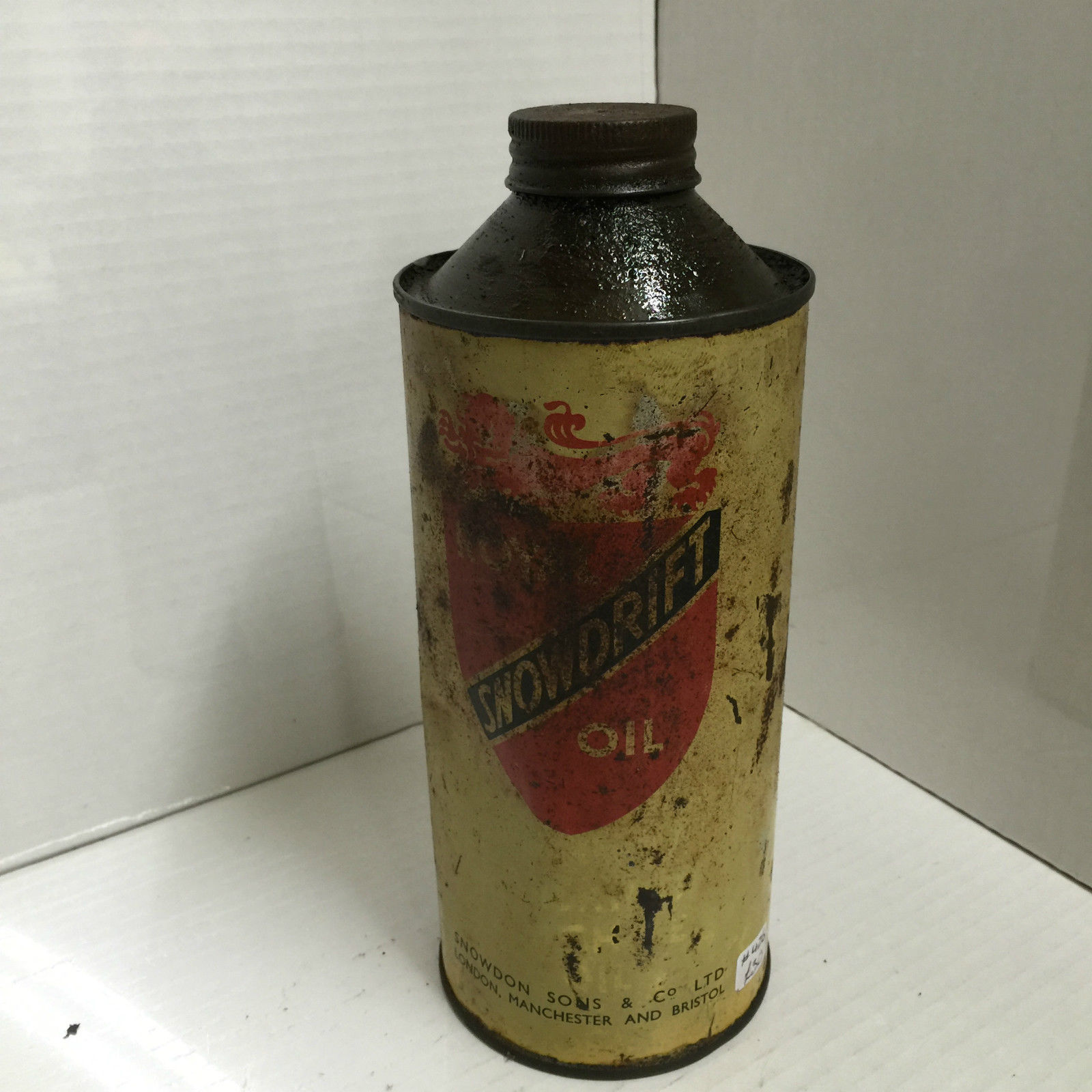 Snowdrift Oil Can