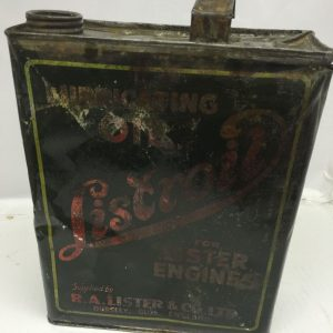 Vintage Liscrol Oil Can