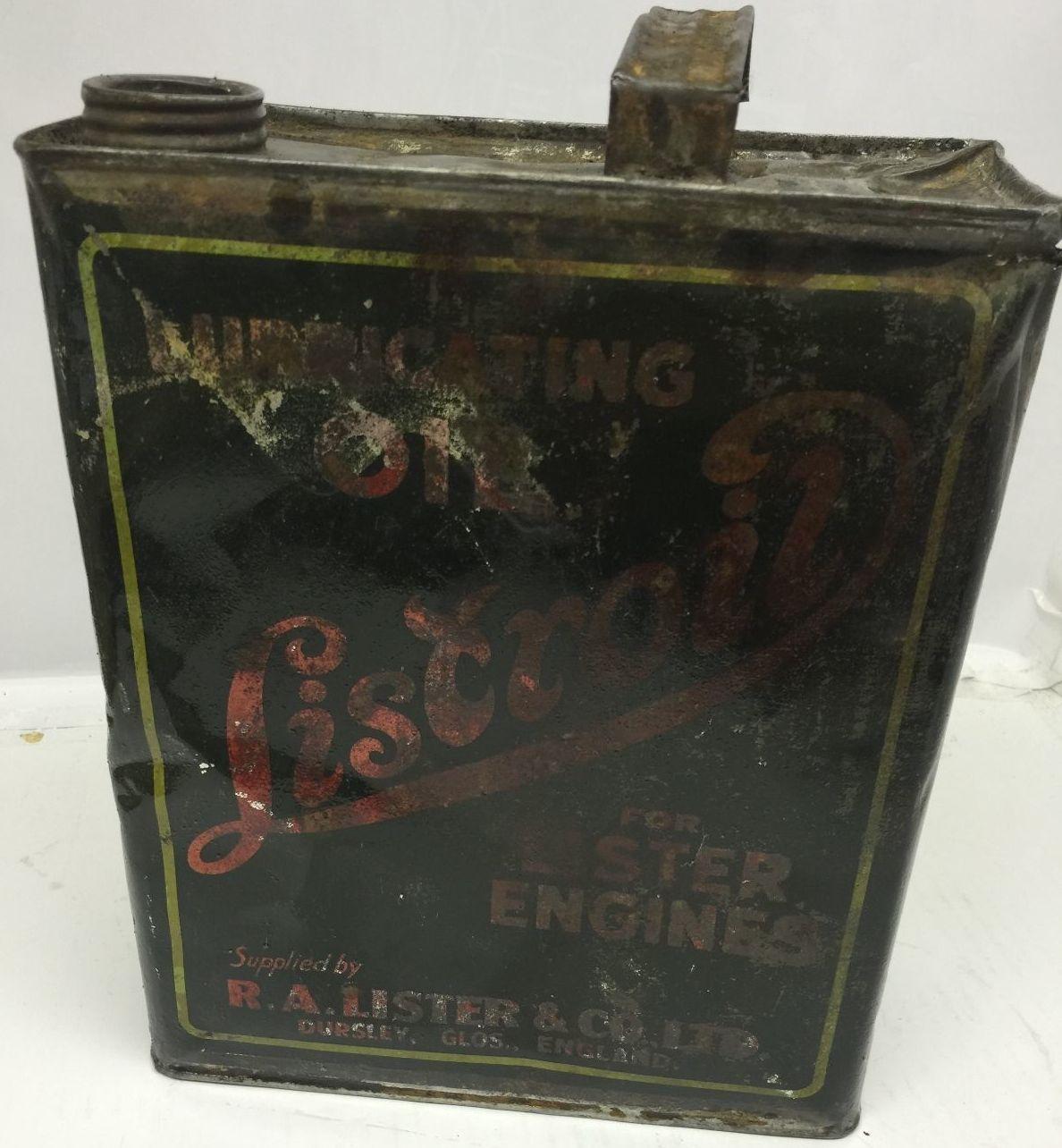 Vintage Liscrol Oil Can