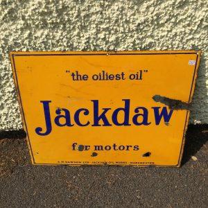 Jackdaw Vintage Sign