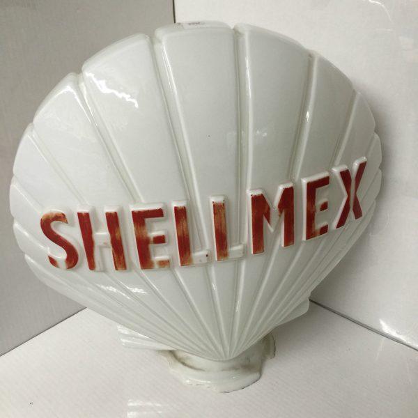 Vintage Shell Mex Petrol Pump Globe