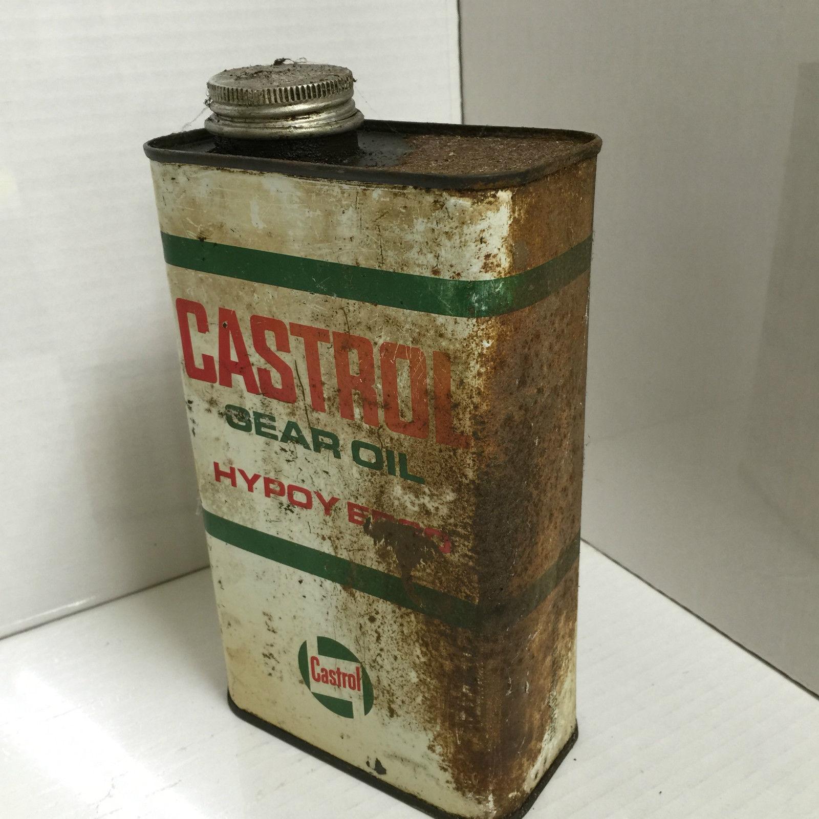 Castrol Gear Oil Can