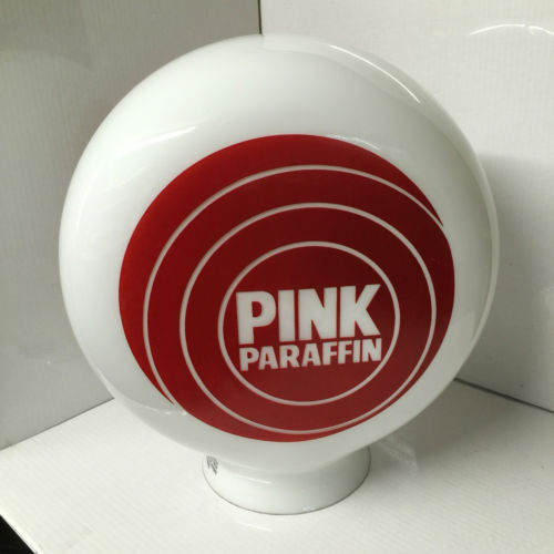 Pink Paraffin Petrol Globe