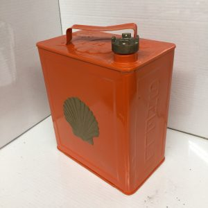 Vintage Repainted Shell Petrol Can