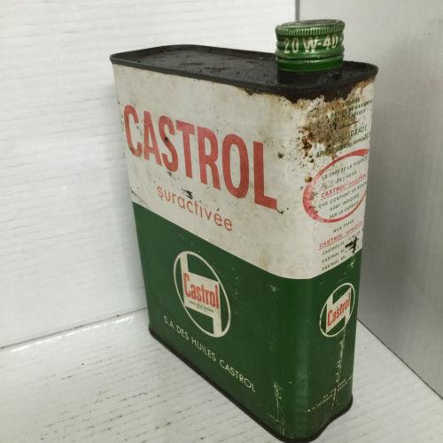 Vintage Castrol Suractivee Oil Can