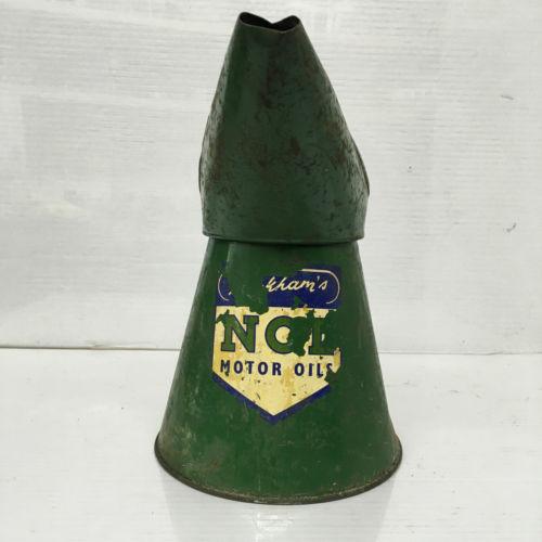 Vintage Duckham's NOL Motor Oils Oil Jug Pourer