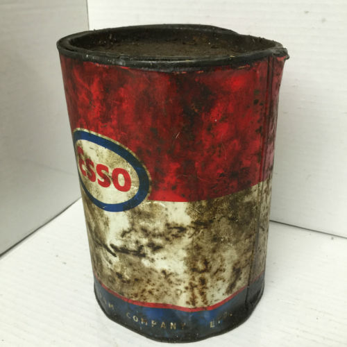 Vintage Esso Oil Tin