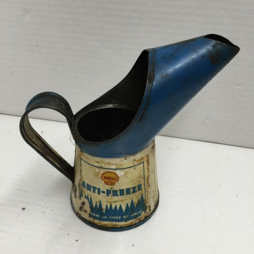 Vintage Shell Anti-Freeze Oil Pourer