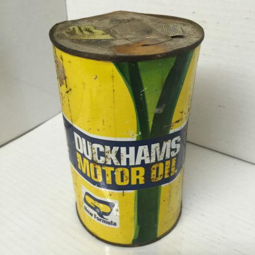 Vintage Duckhams Motor Oil Tin