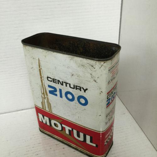Vintage Century 2100 Motul Oil Tin