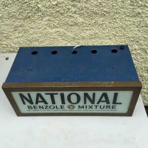 Vintage National Benzole Mixture Light Up Sign