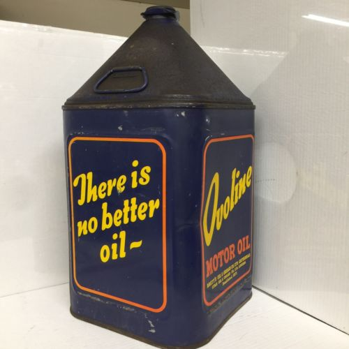 5 gallon oil can ovoline motor oil 1012 for Gallon of motor oil