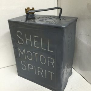 Shell Motor Spirit Petrol Can