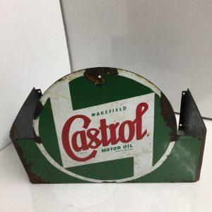 Vintage Wakefield Castrol Motor Oil Sign