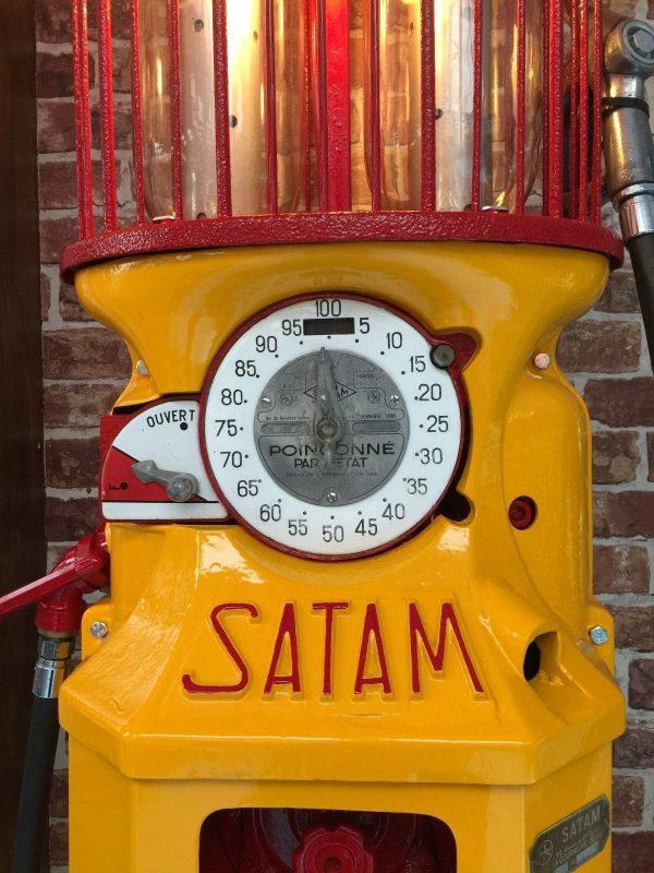 French Satam Shell Petrol Pump