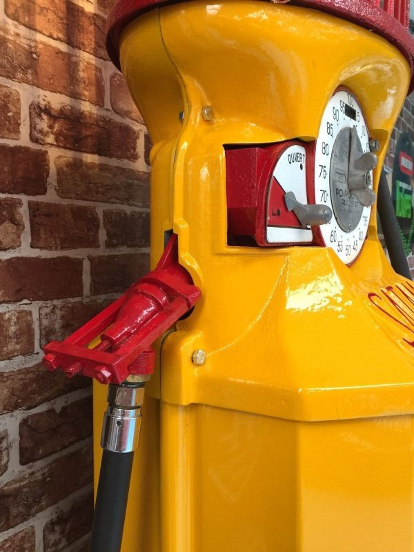 French Satam Shell Petrol Pump