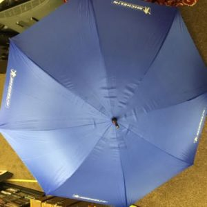 Official Michelin Large Umbrella Blue
