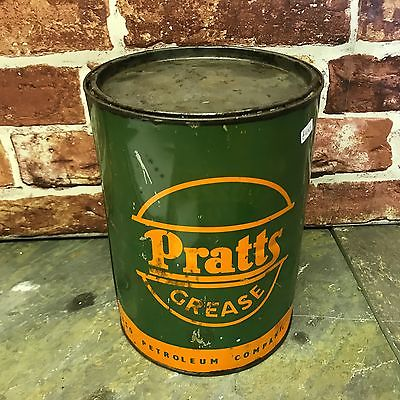 Vintage Pratts Grease Tin