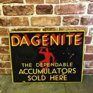 Dagenite Sign