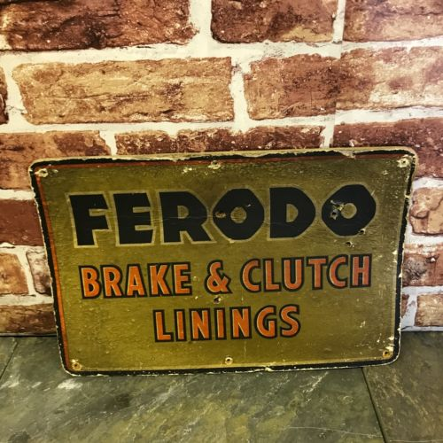 Ferodo Brake and Clutch Linings Sign