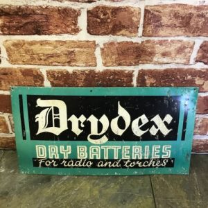 Drydex Enamel Sign