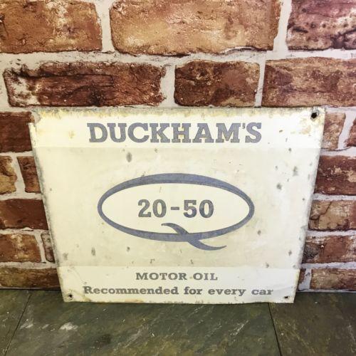 Duckhams 20-50 Motor Oil Sign