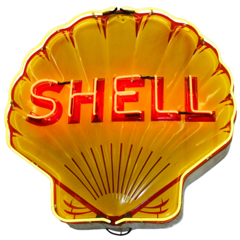 Shell Neon Sign