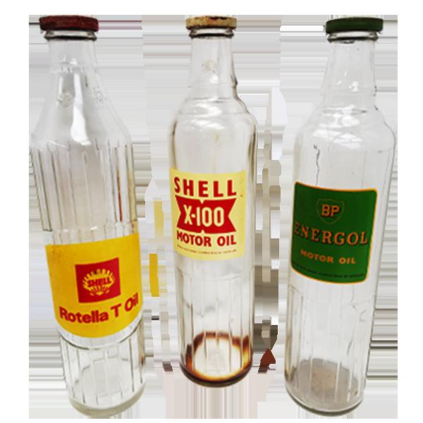 Motor Oil Bottles