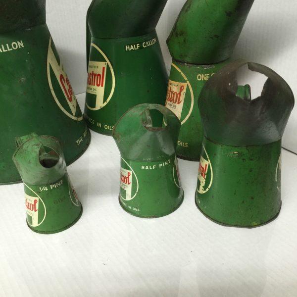 Castrol Oil Pourers