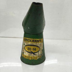 Vintage Duckham's 20-50 Motor Oils Oil Jug Pourer