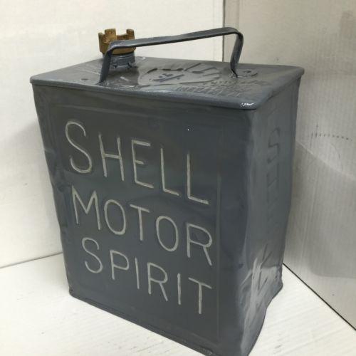 Shell Motor Spirit Petrol Can